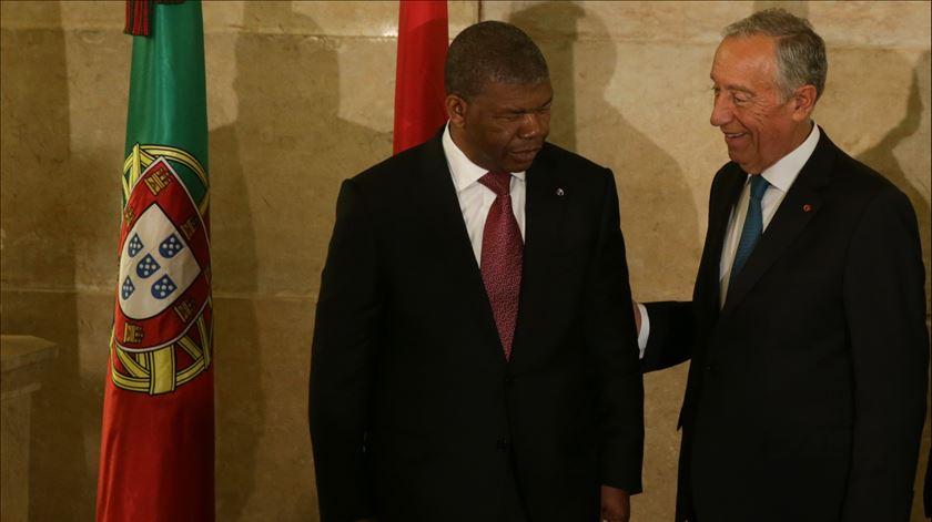 Presidentes de Portugal e Angola encontraram-se em Roma