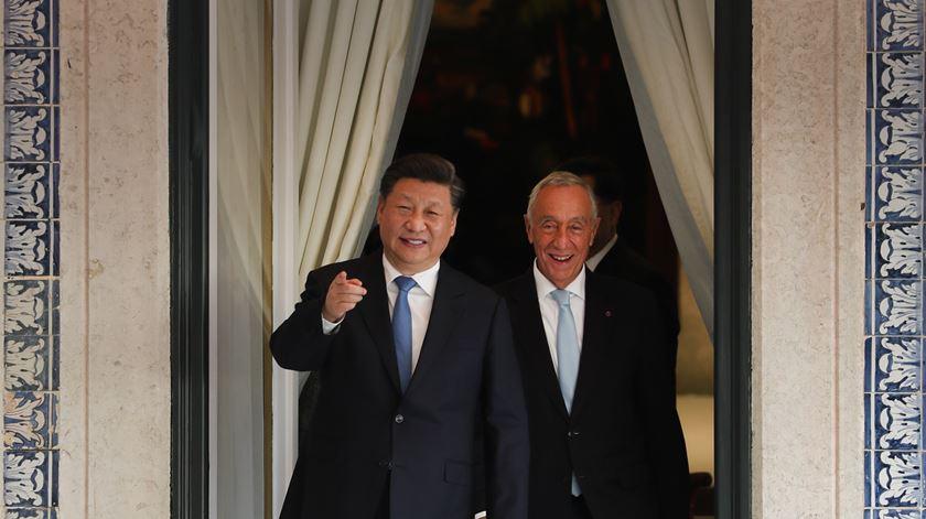 """Xi Jinping. Portugal e China estão """"a entrar no melhor período da História"""""""