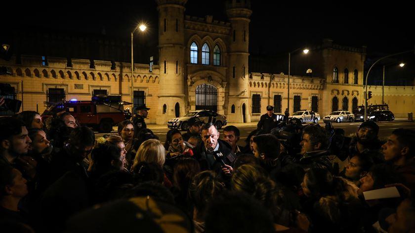 Carlos Rato, Associação Portuguesa de Apoio ao Recluso. Foto: Miguel A. Lopes/Lusa
