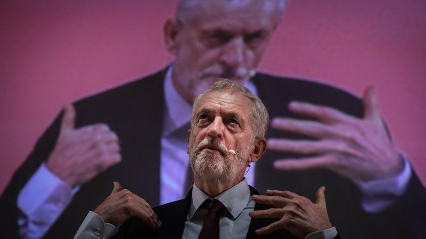 Jeremy Corbyn. Foto: Mário Cruz/Lusa