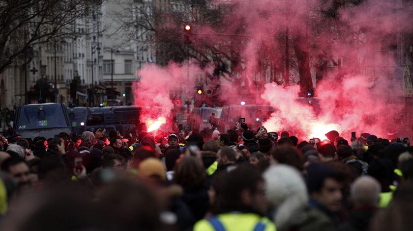 França. Identificados mais de 1.700 manifestantes nos protestos de sábado