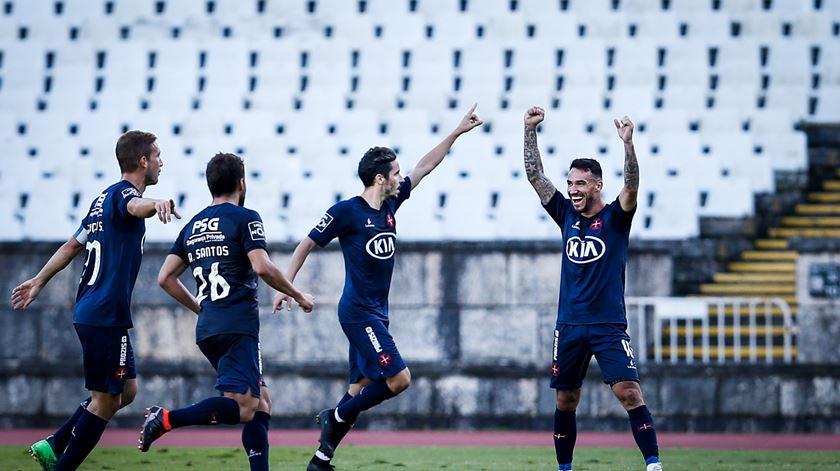 Licá deu a vitória ao Belenenses. Foto: Rodrigo Antunes/Lusa