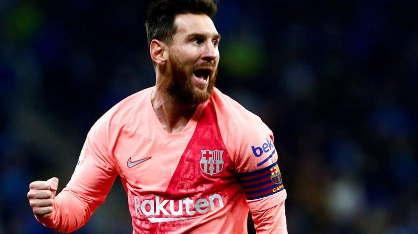 Messi, Barcelona. Foto: Quique García/EPA