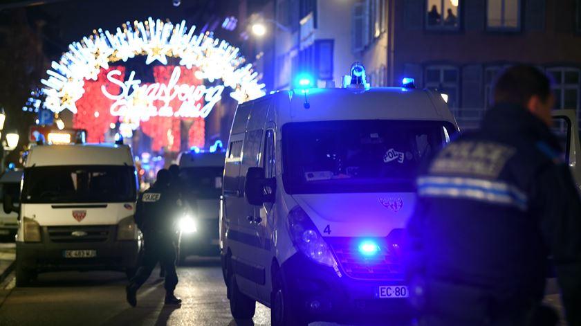 As imagens do ataque mortal em Estrasburgo