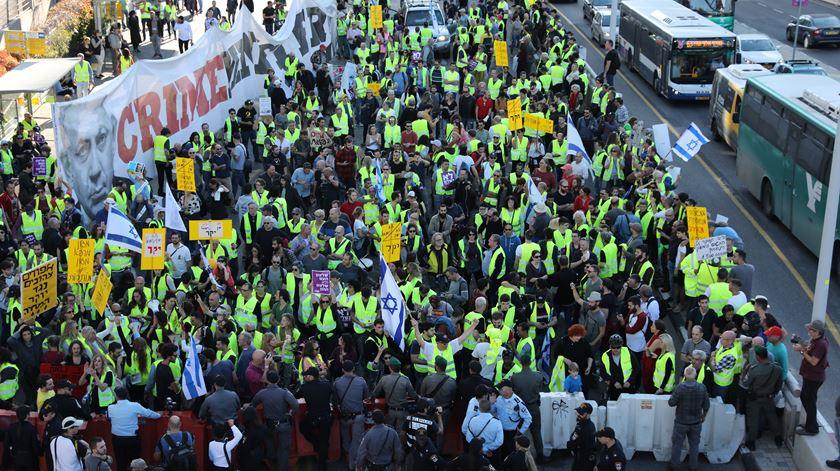 "Movimento dos ""coletes amarelos"" chega a Israel contra aumento do custo de vida"