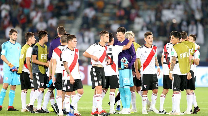 River Plate no Mundial de Clubes. Foto: Ali Haider/EPA