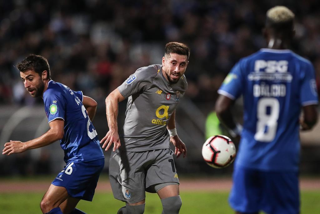 André Santos defrontou o Porto, em várias ocasiões, pela Belenenses SAD Foto: Mário Cruz/Lusa