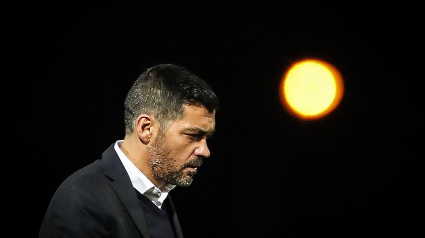 """Sérgio Conceição elogia a exibição """"praticamente perfeita"""" em Chaves"""