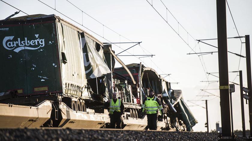 Acidente de comboio na Dinamarca faz seis mortos