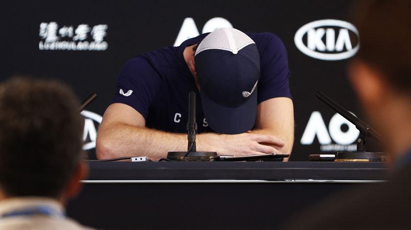O adeus emocionado de Andy Murray ao ténis