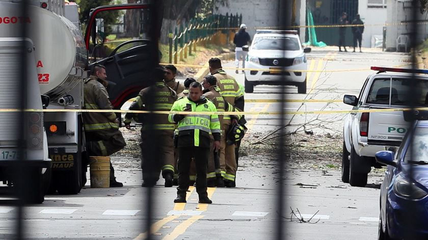 Explosão em Bogotá provocada por 80 quilos de explosivo