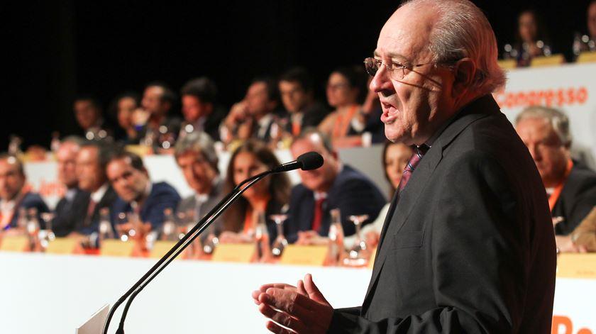 Rui Rio no XVII Congresso do PSD/Madeira Foto: Homem de Gouveia/Lusa