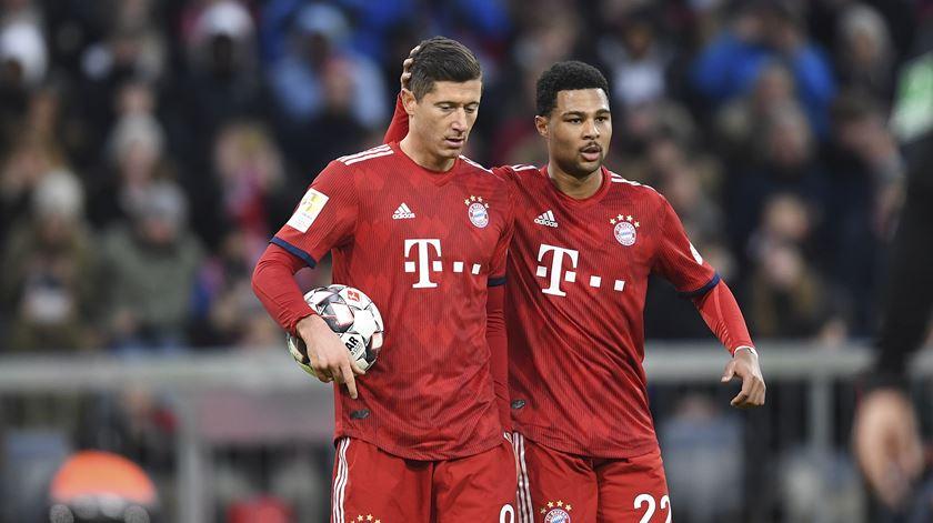 Bayern de Munique vence Bremen pela margem mínima