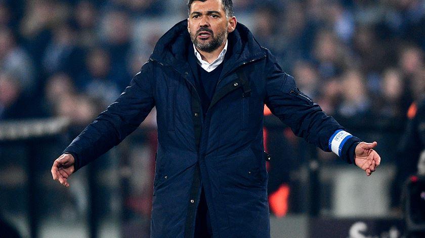"""Sérgio Conceição. """"Aqui não há Militões, não há Conceições, há o FC Porto"""""""