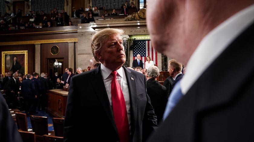 """Trump diz-se insatisfeito com acordo para o muro, mas não haverá novo """"shutdown"""""""