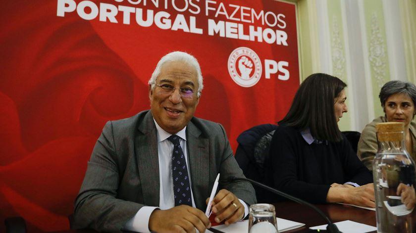 António Costa, na comissão política do PS. Foto: António Cotrim/Lusa