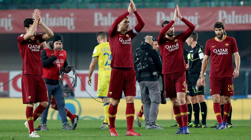 Roma prepara-se para o Dragão com vitória sobre o Bolonha
