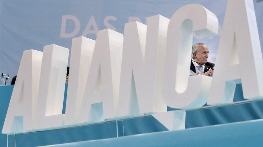 Vice-presidente da Aliança suspenso de funções até esclarecimento de suspeitas