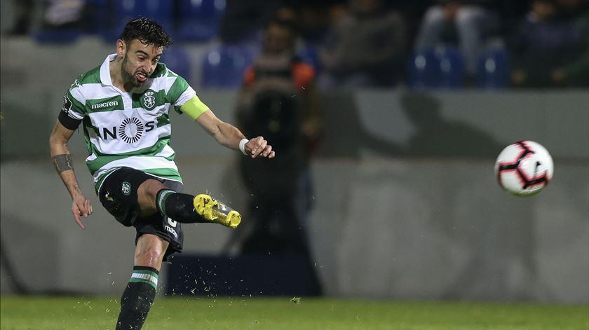 Sporting inicia processo de renovação com Bruno Fernandes