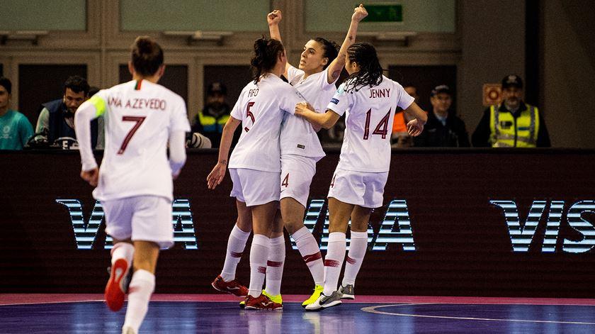 Portugal vence Ucrânia e está na final do Europeu de Futsal feminino