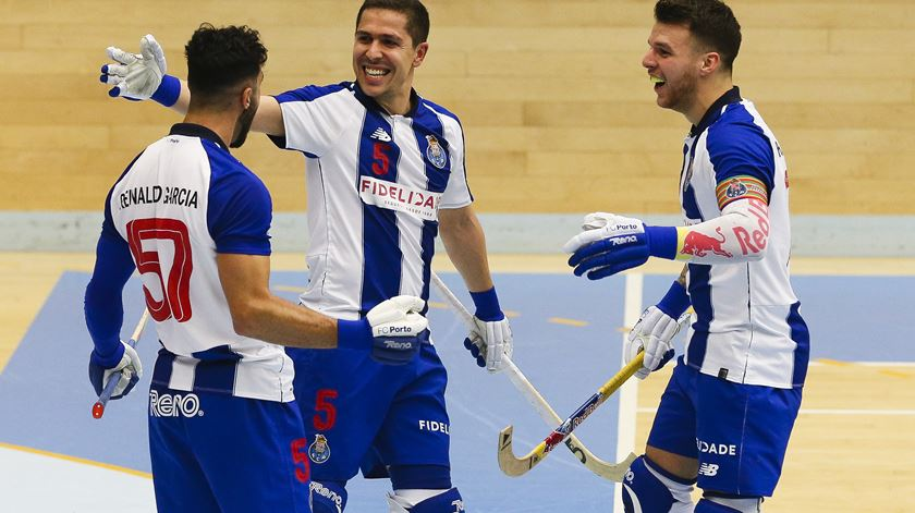 FC Porto, hóquei em patins. Foto: José Coelho/Lusa
