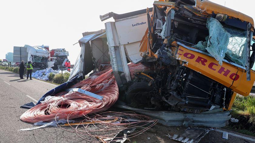 Mais acidentes, mas menos mortes no primeiro trimestre de 2019. Foto: Nuno Veiga/Lusa