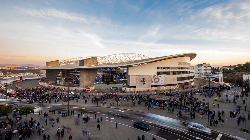 Estádio do Dragão é o palco da final da Liga das Nações. Foto: Octávio Passos/Lusa