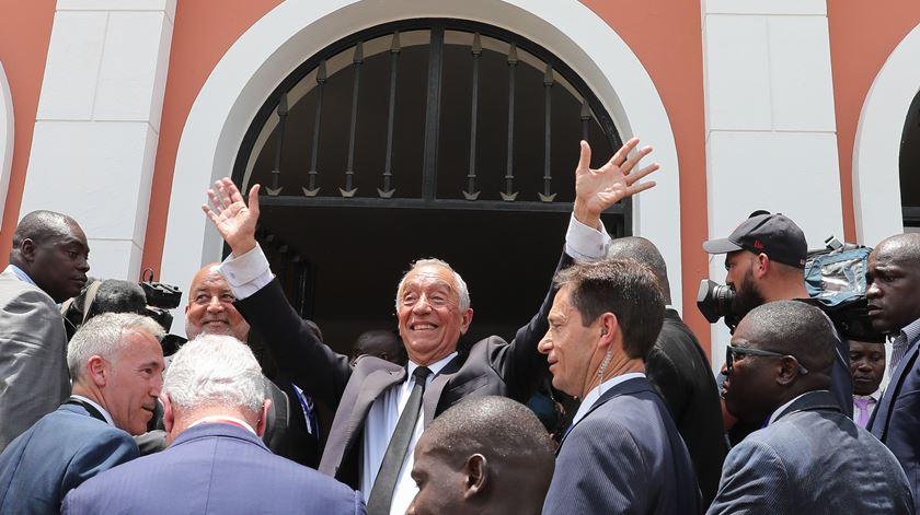 Três anos de Marcelo e dúvidas sobre o Novo Banco