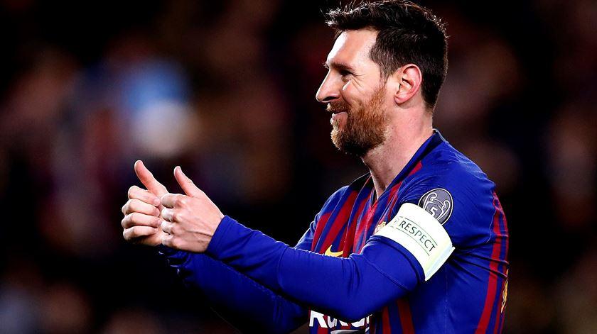 Messi, Barcelona. Foto: Alberto Estevez/EPA