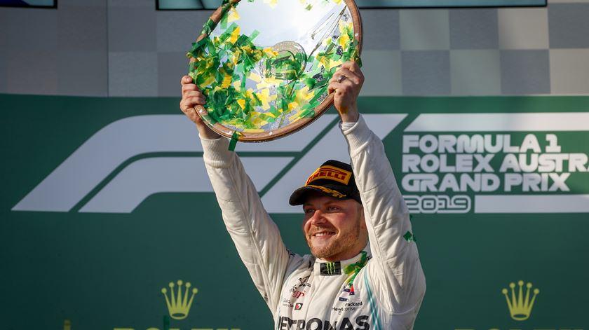 Valtteri Bottas vence GP da Austrália de Fórmula 1. Foto: Diego Azubel/EPA