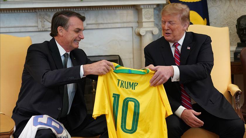 """Trump sobre a Venezuela. """"Todas as opções estão em cima da mesa"""""""