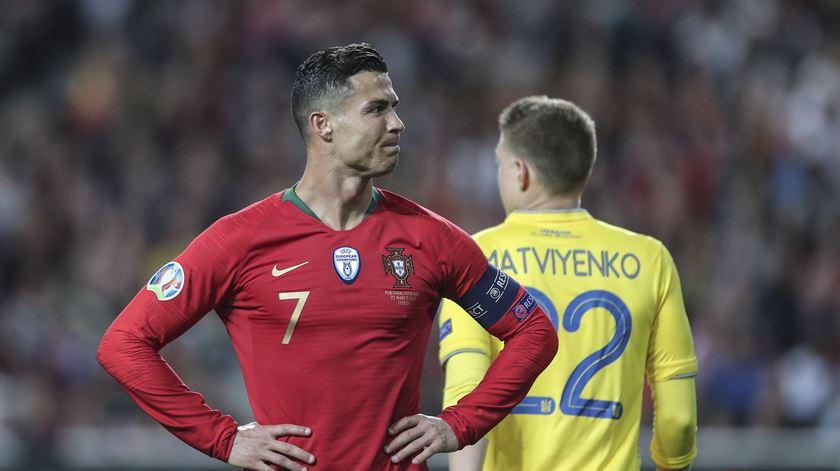 """Ronaldo e a lesão: """"Não é nada de grave, volto dentro de uma ou duas semanas"""""""
