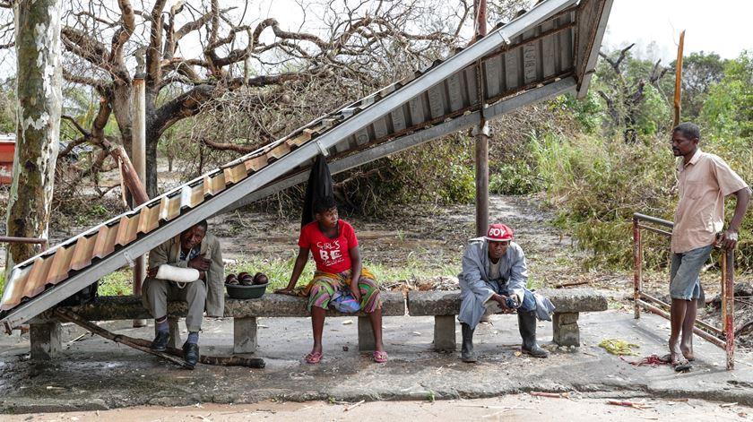 Mau tempo destrói centenas de casas em Moçambique