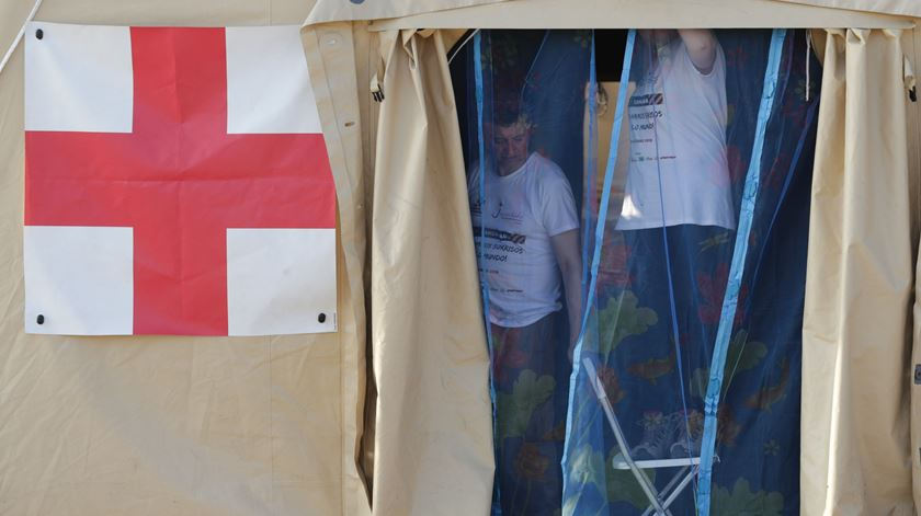 Moçambique. Como a Cruz Vermelha montou um centro de operações na Beira