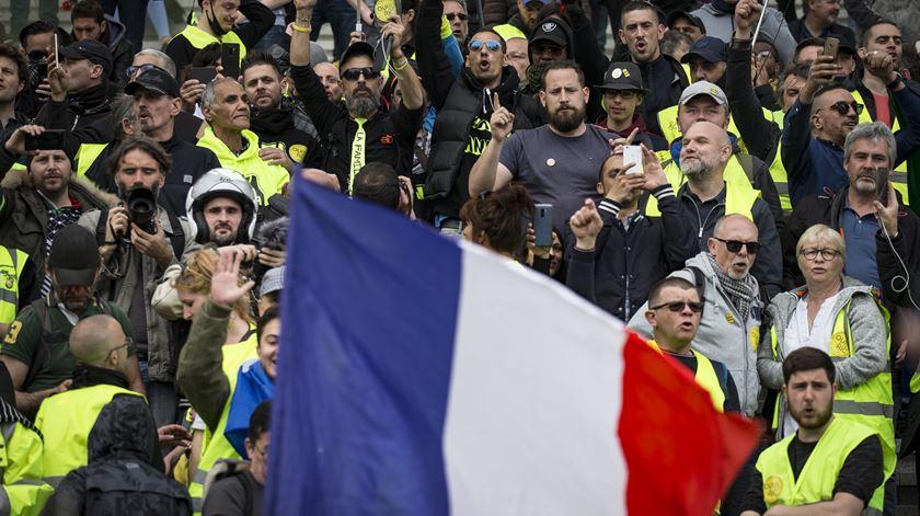 França. Protesto dos coletes amarelos teve a mais baixa adesão desde novembro