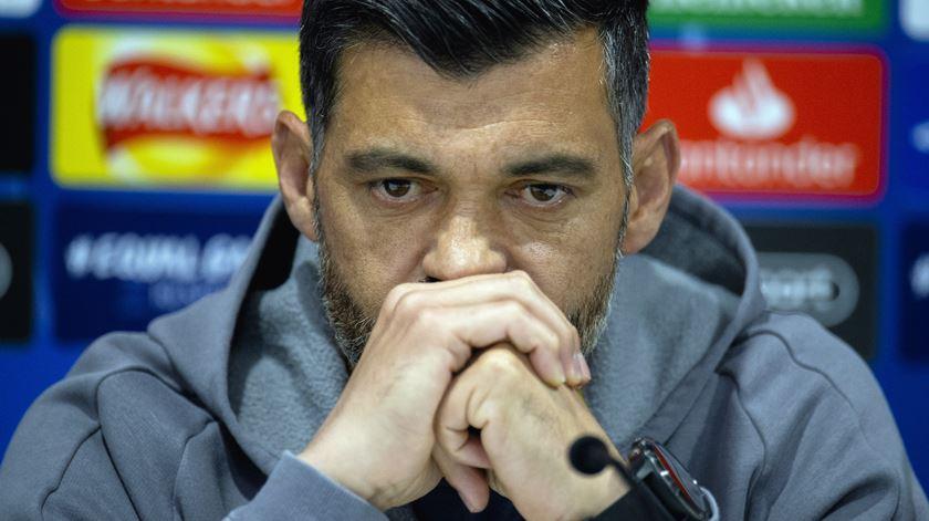 Sérgio prefere lutar pela Liga Europa a ser eliminado na fase de grupos da Liga dos Campeões