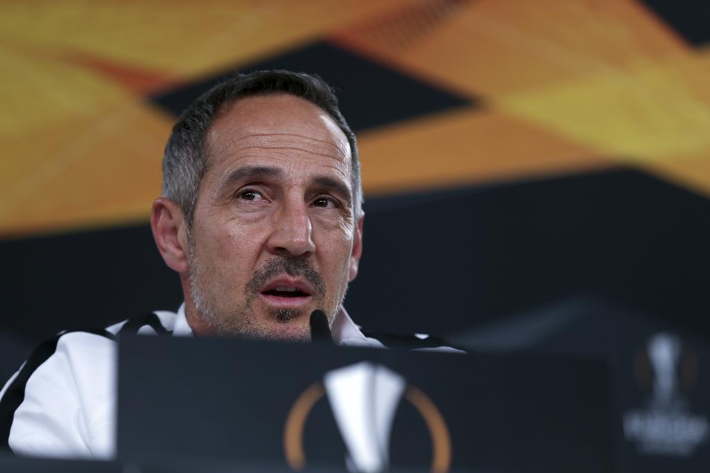 Adi Hutter orientou o Eintracht durante três temporadas. Foto: Manuel de Almeida/Lusa