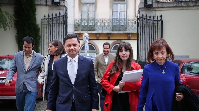 """""""A nossa fasquia é ganhar as eleições, ganhar de forma clara."""" Foto: Mário Cruz/Lusa"""