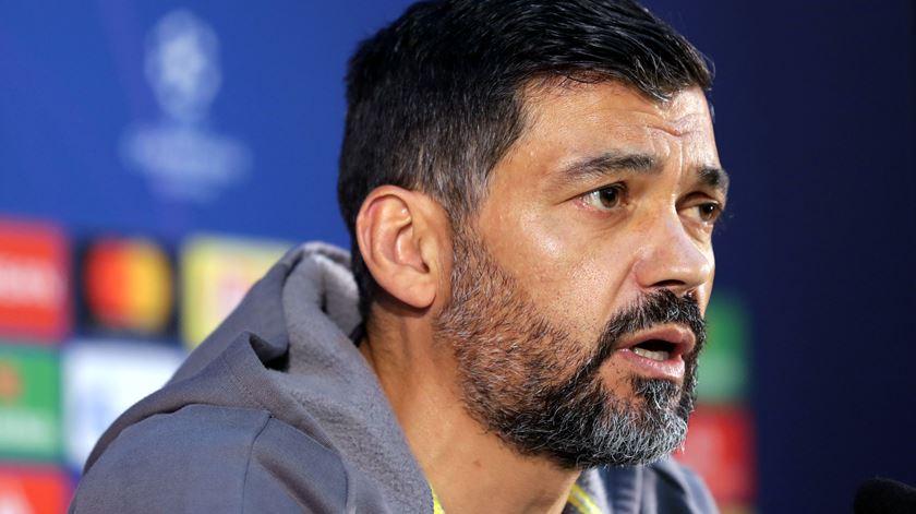 Sporting avança com queixa contra Sérgio Conceição