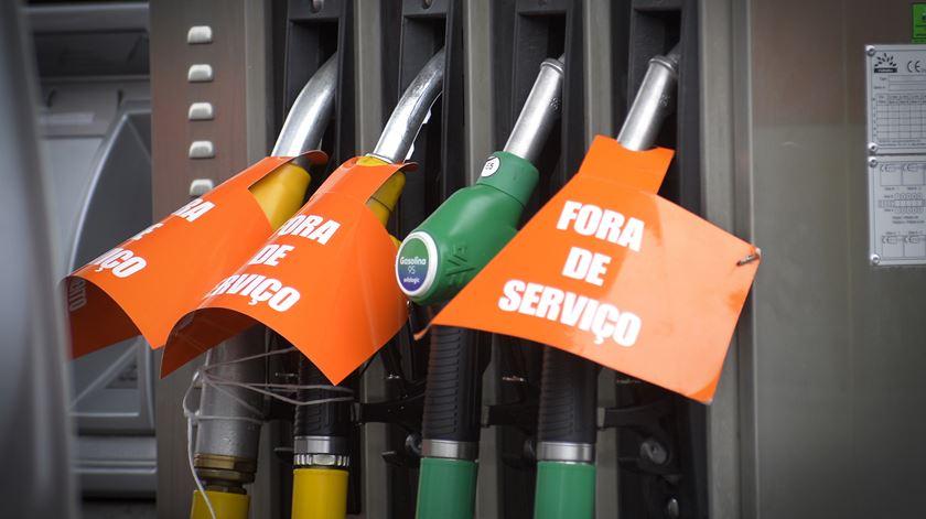 """""""Stock"""" de combustíveis será reposto gradualmente"""