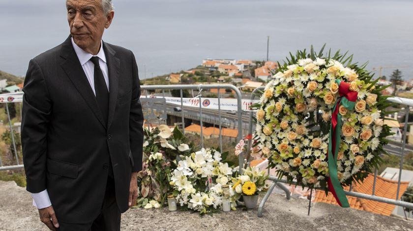 """Marcelo na Madeira para """"testemunhar solidariedade, gratidão e determinação"""""""