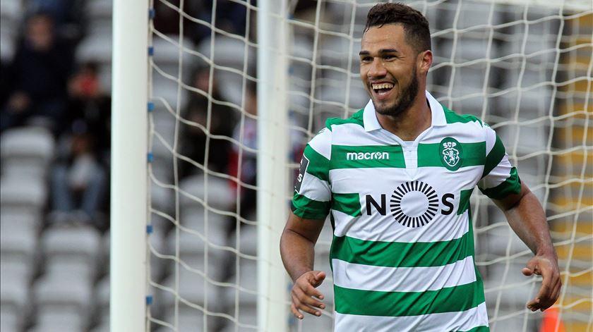 """Luiz Phellype sonha """"ganhar tudo e fazer história"""" no Sporting"""