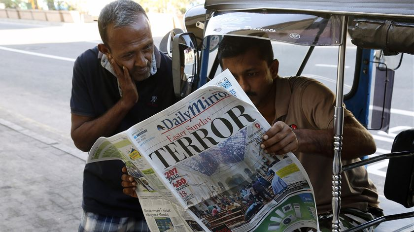 """Autoridades do Sri Lanka avisam: """"Pode haver nova vaga de atentados"""""""