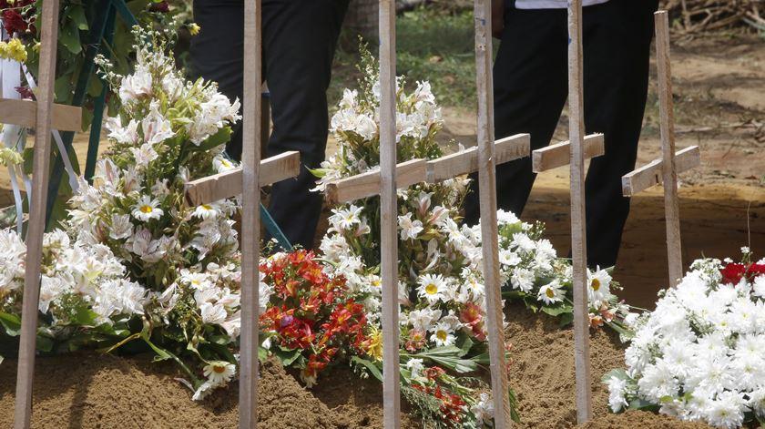 Os ataques no domingo de Páscoa, no Sri Lanka, estão entre os mais mortíferos de 2019. Foto: M. A. Pushpa Kumara/EPA