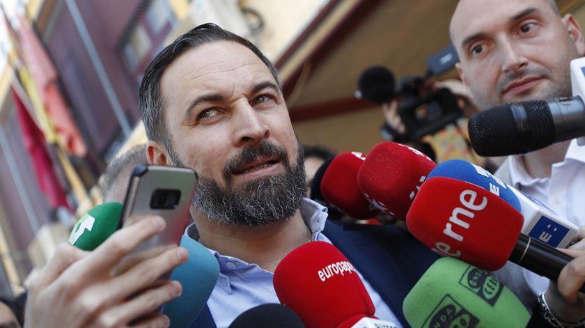 Vox. Protesto da extrema-direita reúne centenas de pessoas em várias cidades espanholas