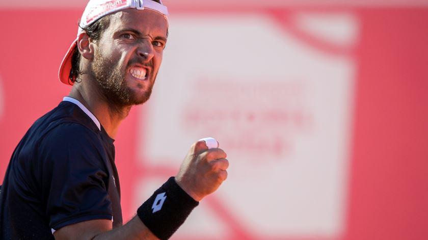 João Sousa na segunda ronda do ATP 250 de Genebra