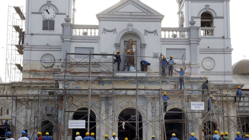 Sri Lanka. Missas dominicais adiadas devido a risco de novos ataques