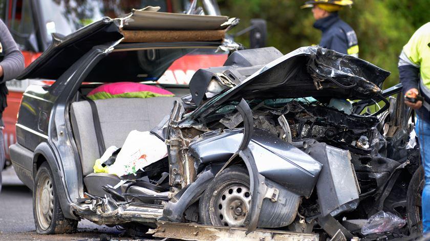 Menos acidentes e menos vítimas na estrada até maio