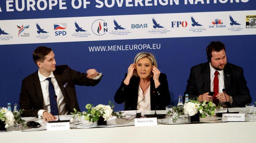 Marine Le Pen antevê voto histórico para populistas e nacionalistas de direita