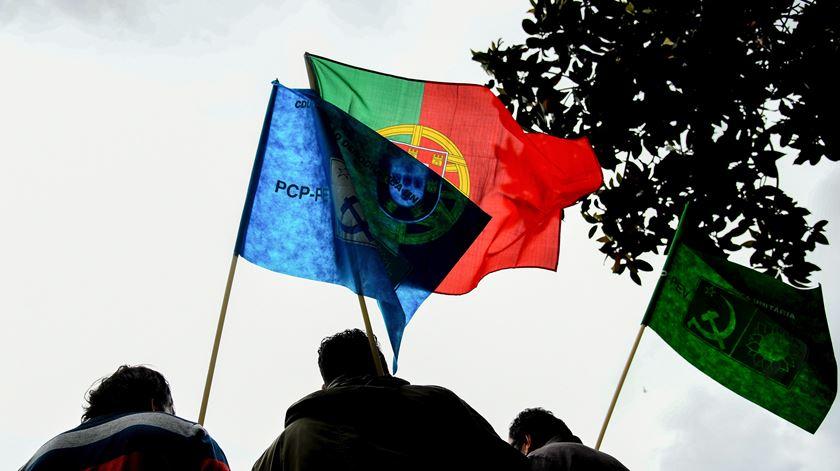 Campanha da CDU em Fafe. Foto: Hugo Delgado/Lusa